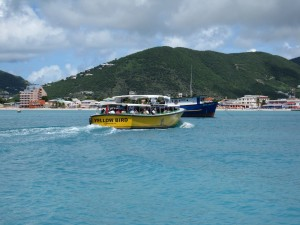 The Water Taxi from the Port of St. Maarten to Phillipsburg