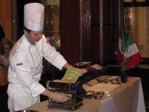 Chef Michael Sabourin's Pasta-Making Demonstration