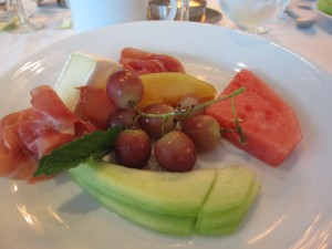 Melon and Proscuitto Brunch